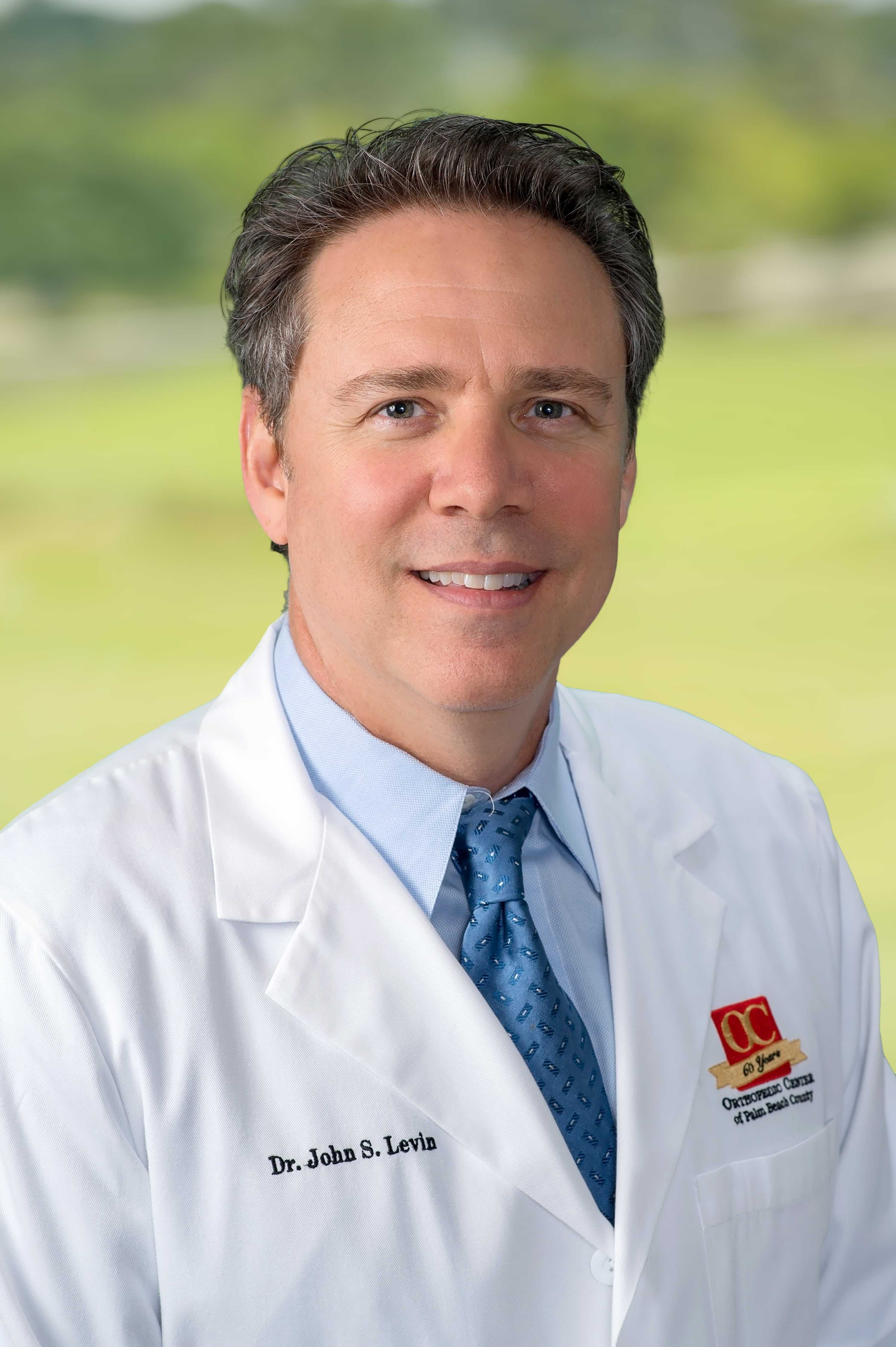 Dr. John Levin offers podiatric treatment for plantar fasciitis